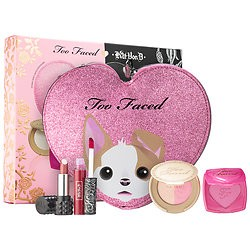 Too Faced X Kat Von D Better Together Cheek & Lip Makeup Bag Set