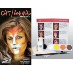 MEHRON Cat/Animal - Character Makeup Kit