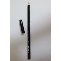 NYX Long Lip Pencil deep purple