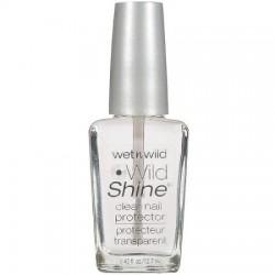 Wet n Wild Wild Shine Nail Color, 401A Clear Nail Protector, 0.43 fl oz