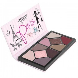 COASTAL SCENTS Passport to Paris Eyeshadow Palettes