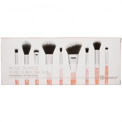 BH Cosmetics Rose Quartz - 9 Piece Brush Set