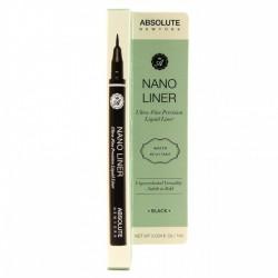 ABSULUTE Nano Liner Ultra Fine Precision Liner Black