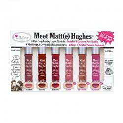 THE BALM - Meet Matte Hughes® Set of 6 Mini Long-Lasting Liquid Lipsticks Vol. 3