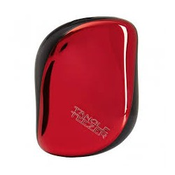 TANGLE TEEZER Compact Styler Red Chrome Hairbrush