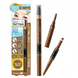 K-Palette Japan 1 Day Tattoo Lasting 3-Way Eyebrow Pencil & Eyebrow Powder