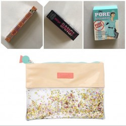 Benefit 2018 confenti Zip pouch set