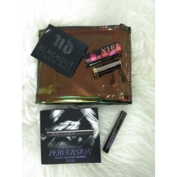 URBAN DECAY BLACK OUT STASH BAG