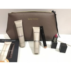 LAURA MERCIER Nude Pouch With Deluxe Size