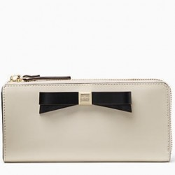 Kate Spade Hancock Park Nisha Wallet- Pebble/Black