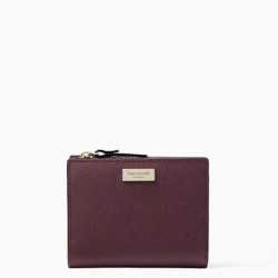 Kate Spade Laurel Way Small Shawn Small Wallet Deep Plum