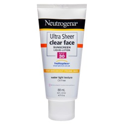 Neutrogena Ultra Sheer Clear Face Lotion SPF30 88mL
