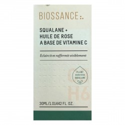 Biossance Squalane + Vitamin C Rose Oil (1oz | 30 ml)