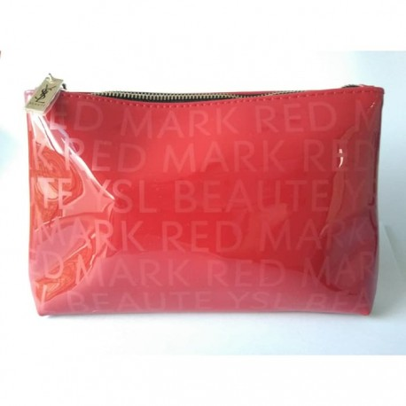 YSL Beaute Mark Red Pouch