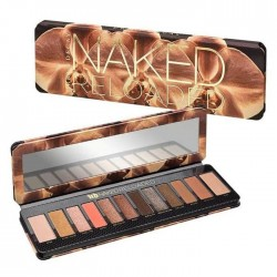 Urban Decay Naked Reloaded Eyeshadow Palette Swatches