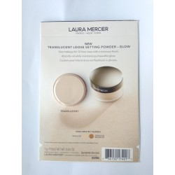 Laura Mercier Loose Setting Powder Glow in Translucent 1gr