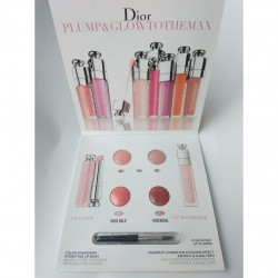 Dior Plum & glow Sample Card With Brush