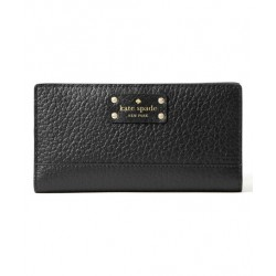 Kate Spade Bay Street Stacy Leather Wallet Black