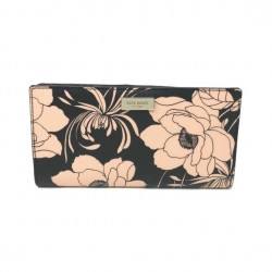 Kate Spade Laurel Way Stacy Gardenia Floral Wallet Black Multi