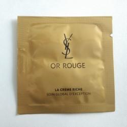 YSL Or Rouge Crème Riche Sachet
