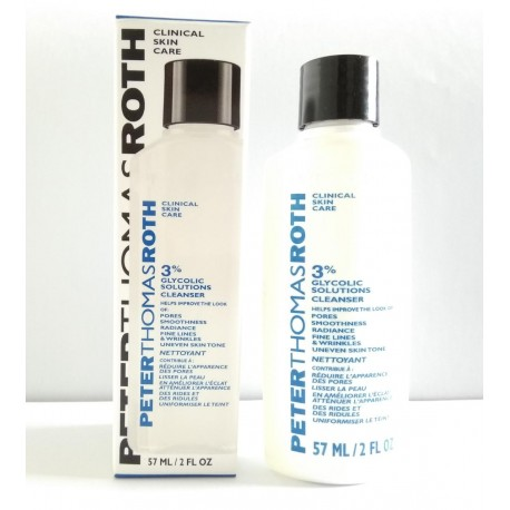 PETER THOMAS ROTH 3% Glycolic Solutions Cleanser 57mL