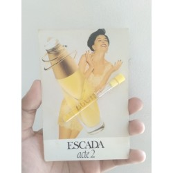 Escada Acte 2 EDP 1,1 ML