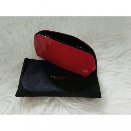 Ysl Pouch Medium Size Red