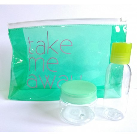 TAKE ME AWAY POUCH +  JAR&BOTTLE CONTAINER