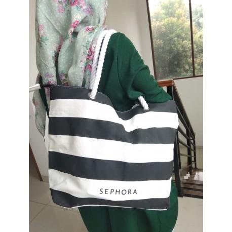 Sephora Canvas Strip Bag