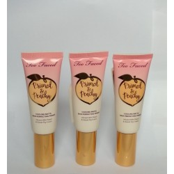 TOO FACED Primed & Peachy Cooling Matte Perfecting Primer – Peaches and Cream Collection unbox full size