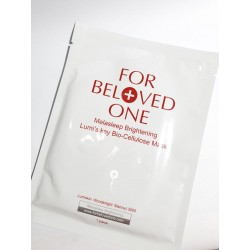 For Beloved One Melasleep Brightening Lumi's Key Bio-Cellulose Mask 1pc