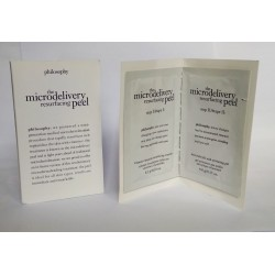 Philosophy The Microdelivery Resurfacing Peel Sample Set