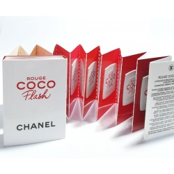 Chanel Rouge Coco Flash Lipstick Card