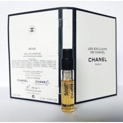Chanel les exclusive Beige EDP Vial Parfum