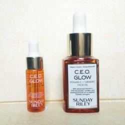 Sunday Riley C.E.O. Glow Vitamin C and Turmeric Face Oil Unbox