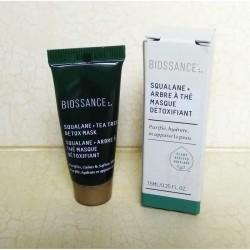 BIOSSANCE Squalane + Tea Tree Detox Mask 7,5ml