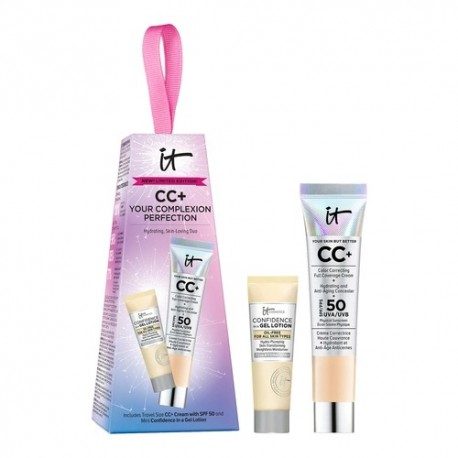 IT COSMETICS CC+ Your Complexion Perfection Gift Set Medium (Limited Edition)