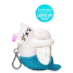 Bath&BodyWorks KITTY MERMAID Light-up PocketBac Holder