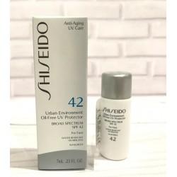 SHISEIDO Urban Environment Oil-Free UV Protector SPF 42 Sunscreen 7ml