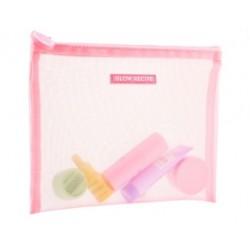 Glow Recipe Pink Mesh Zip Pouch