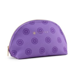 Tatcha Cosmetic Zip Pouch Purple