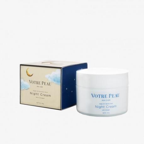VOTRE PEAU Skin Booster Collagen Night Cream 30gr