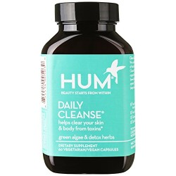 HUM Nutrition Daily Cleanse Clear Skin and Body Detox Supplement 60s