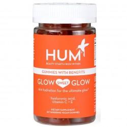 HUM Nutrition Glow Sweet Glow Skin Hydration - Vegan Gummies 14 Caps
