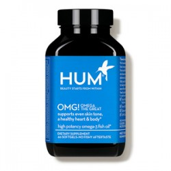 HUM Nutrition OMG! Omega The Great Fish Oil Supplement 60's