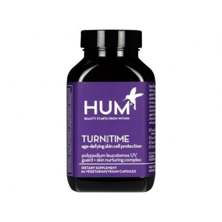 HUM Nutrition Turn Back Time Turmeric Supplement 60Caps