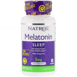 Natrol Melatonin 5 mg Time Release 100 Tab