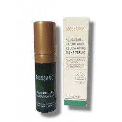 Biossance Squalane + 10% Lactic Acid Resurfacing Night Serum 10ml