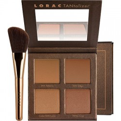 LORAC Take Me To TANtego TANtalizer® Bronzer Palette & Brush Set
