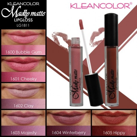 Kleancolor Madly Matte Lip Gloss